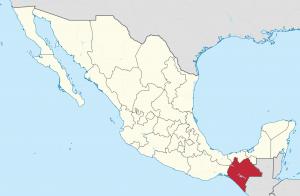 Chiapas map
