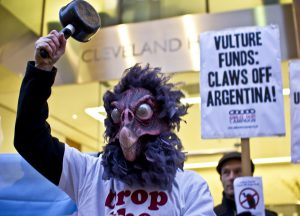 Argentina's battle against the vulture funds drew a huge amount of international support. Photo by James Robertson/Jubilee Debt Campaign.